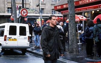 TheBourne Identity. Matt DamonFilmstill-Editorial use onlyRef:  11477 Supplied by Capital PicturesTel: +44 (0)20 7253 1122sales@capitalpictures.comwww.capitalpictures.com(BD054)