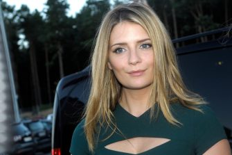 "Mischa Barton poses at the ""Late night Shopping""  in the Designer Outlet in Soltau, northern Germany, on 06 September 2013."
