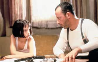 Il film Leon con Natalie Portman e Jean Reno