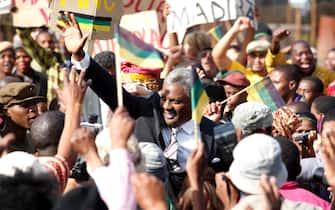 Una scena del film Mandela - La lunga strada verso la libertà