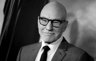 """HOLLYWOOD, CALIFORNIA - JANUARY 13: (EDITORS NOTE: Image has been converted to black and white.) Sir Patrick Stewart attends the premiere of CBS All Access' """"Star Trek: Picard"""" at ArcLight Cinerama Dome on January 13, 2020 in Hollywood, California. (Photo by Rich Fury/Getty Images)"""