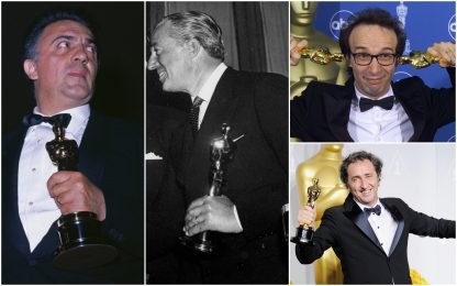I 50 anni di Sorrentino: i registi italiani che hanno vinto l'Oscar