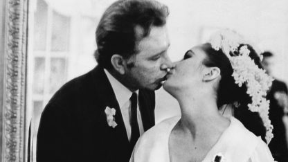 Richard Burton e Liz Taylor, un  folle amore tra matrimoni e divorzi