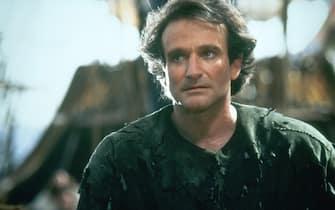 Robin Williams nel film Hook: Capitan Uncino