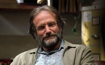 Robin Williams in una scena di Will Hunting di Gus Van Sant