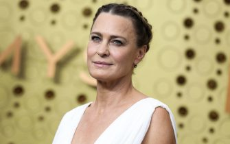 Los Angeles, United States. 22nd Sep, 2019. LOS ANGELES, CALIFORNIA, USA - SEPTEMBER 22: Robin Wright arrives at the 71st Annual Primetime Emmy Awards held at Microsoft Theater L.A. Live on September 22, 2019 in Los Angeles, California, United States. (Photo by Xavier Collin/Image Press Agency) Credit: Image Press Agency/Alamy Live News