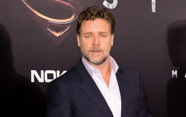 """NEW YORK, NY - JUNE 10:  Actor Russell Crowe attends """"Man Of Steel"""" World Premiere at Alice Tully Hall at Lincoln Center on June 10, 2013 in New York City.  (Photo by Gilbert Carrasquillo/FilmMagic)"""