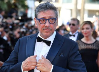 Italian actor Sergio Castellitto arrives on May 27, 2017 for the screening of the film 'Based on a True Story' (D'Apres une Histoire Vraie) at the 70th edition of the Cannes Film Festival in Cannes, southern France.  / AFP PHOTO / Alberto PIZZOLI        (Photo credit should read ALBERTO PIZZOLI/AFP via Getty Images)