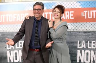 ROME, ITALY - APRIL 13:  Sergio Castellitto and Elena Sofia Ricci attend 'Il Tuttofare' photocall at St Regis Hotel on April 13, 2018 in Rome, Italy.  (Photo by Elisabetta A. Villa/Getty Images)