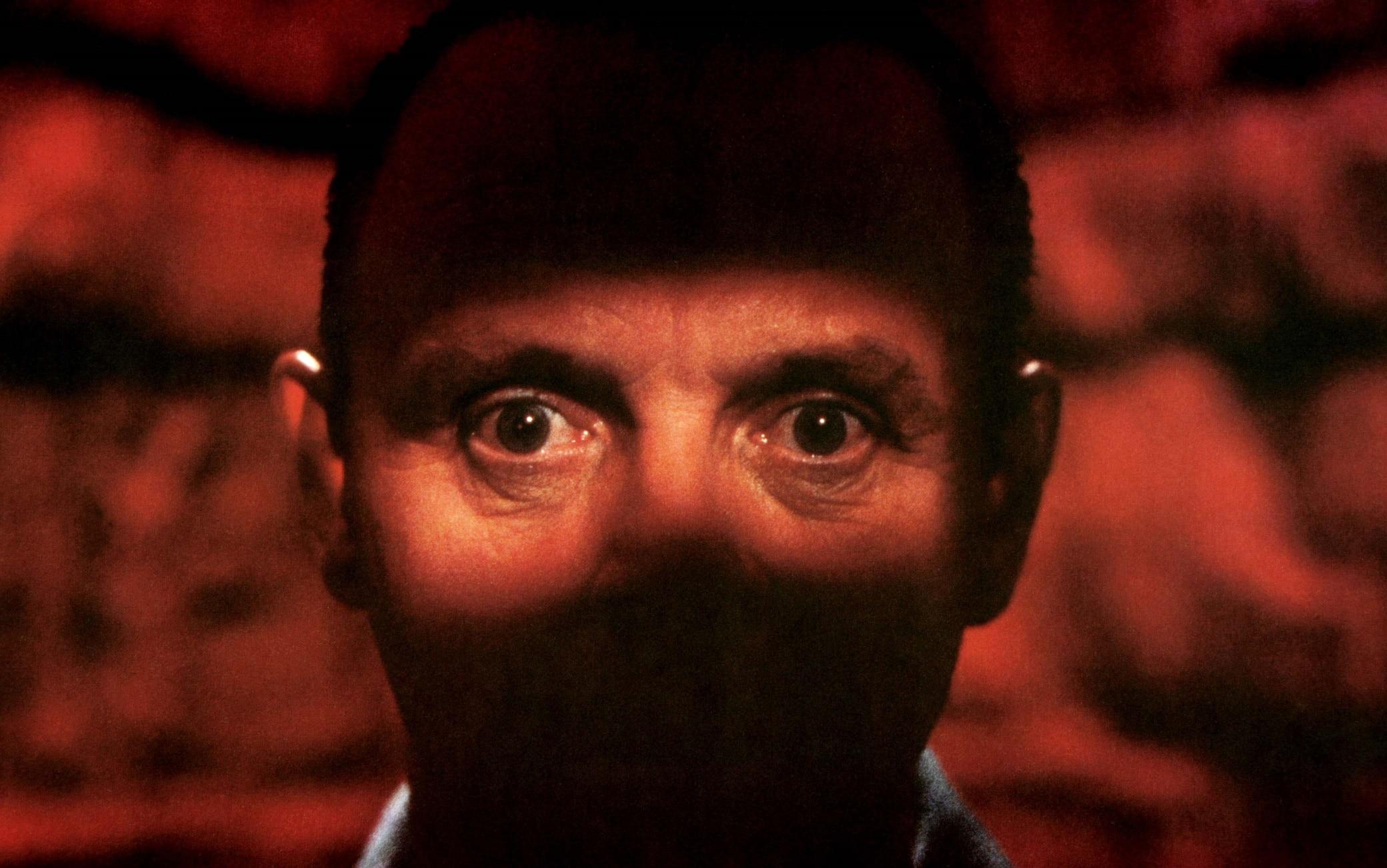 Anthony Hopkins nei panni di Hannibal Lecter