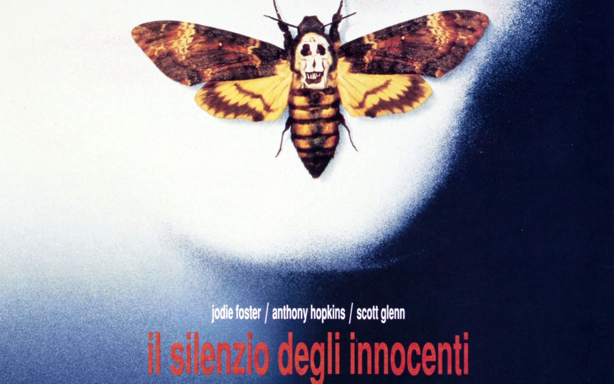 """Il particolare della foto di Dalí nella locandina de """"Il silenzio degli innocenti"""""""