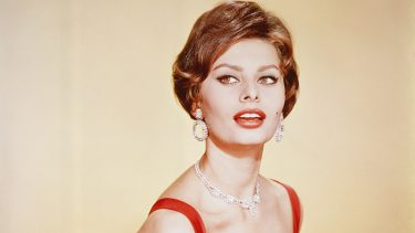 12/18/1964: Close-up of Sophia Loren.