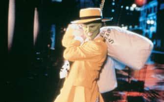 "Jim Carrey in una scena del film ""The Mask"""