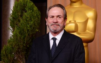 Actor Tommy Lee Jones attends the 85th Academy Awards nominations luncheon in Beverly Hills, on February 4, 2013.  UPI/Jim Ruymen