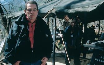 Tommy Lee Jones recita ne Il fuggitivo del 1993