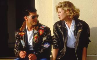 """Tom Cruise, Kelly McGillis, """"Top Gun"""" (1986) Paramount File Reference # 33848-607THA"""