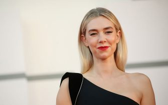 VENICE, ITALY - SEPTEMBER 12: Vanessa Kirby walks the red carpet ahead of closing ceremony at the 77th Venice Film Festival on September 12, 2020 in Venice, Italy. (Photo by Elisabetta Villa/Getty Images)