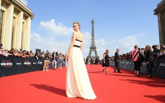PARIS, FRANCE - JULY 12:  Vanessa Kirby attends the Global Premiere of 'Mission: Impossible - Fallout' at Palais de Chaillot on July 12, 2018 in Paris, France.  (Photo by Pascal Le Segretain/Getty Images)