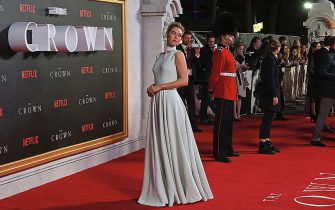 """LONDON, ENGLAND - NOVEMBER 01:  Vanessa Kirby attends the World Premiere of new Netflix Original series """"The Crown"""" at Odeon Leicester Square on November 1, 2016 in London, England.  (Photo by David M. Benett/Dave Benett/WireImage)"""