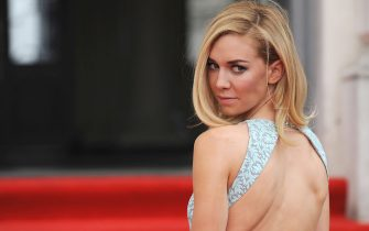 LONDON, ENGLAND - AUGUST 08: Vanessa Kirby attends the World Premiere of 'About Time' at Somerset House on August 8, 2013 in London, England.  (Photo by Ferdaus Shamim/WireImage)