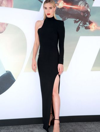 """HOLLYWOOD, CALIFORNIA - JULY 13: Vanessa Kirby attends the premiere of Universal Pictures' """"Fast & Furious Presents: Hobbs & Shaw"""" at Dolby Theatre on July 13, 2019 in Hollywood, California. (Photo by Rich Fury/Getty Images)"""