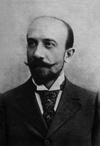 Georges Melies (1861-1938) french director (use of special effects), 1893. (Photo by APIC/Getty Images)