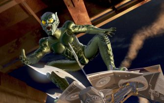 Jan 01, 2002; Hollywood, CA, USA; Actor WILLEM DAFOE stars as the Green Goblin.Mandatory Credit: Photo by Colombia Pictures/ZUMA Press.(©) Copyright 2002 by Colombia Pictures