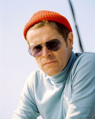 """Pictured: Klaus Daimler (WILLEM DAFOE) in a scene from THE LIFE AQUATIC WITH STEVE ZISSOU, directed by Wes Anderson. Distributed by Buena Vista International. THIS MATERIAL MAY BE LAWFULLY USED IN ALL MEDIA ONLY TO PROMOTE THE RELEASE OF THE MOTION PICTURE ENTITLED """"THE LIFE AQUATIC WITH STEVE ZISSOU"""" DURING THE PICTURE'S PROMOTIONAL WINDOWS. ANY OTHER USE, RE-USE, DUPLICATION OR POSTING OF THIS MATERIAL IS STRICTLY PROHIBITED WITHOUT THE EXPRESS WRITTEN CONSENT OF TOUCHSTONE PICTURES. AND COULD RESULT IN LEGAL LIABILITY. YOU WILL BE SOLELY RESPONSIBLE FOR ANY CLAIMS, DAMAGES, FEES, COSTS, AND PENALTIES ARISING OUT OF UNAUTHORIZED USE OF THIS MATERIAL BY YOU OR YOUR AGENTS."""