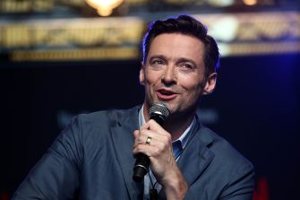 AUCKLAND, NEW ZEALAND - FEBRUARY 27: Actor Hugh Jackman speaks to media at AUT's South Campus on February 27, 2019 in Auckland, New Zealand. Hugh Jackman has confirmed he is bringing his world tour, The Man. The Music. The Show, to Auckland's Spark Arena in September(Photo by Phil Walter/Getty Images)