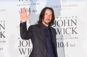 TOKYO, JAPAN - SEPTEMBER 10: Keanu Reeves attends the Japan premiere of 'John Wick: Chapter 3 - Parabellum' at Roppongi Hills on September 10, 2019 in Tokyo, Japan. (Photo by Yuichi Yamazaki/Getty Images)