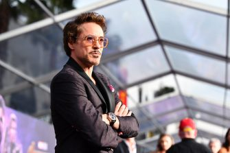 LOS ANGELES, CA - APRIL 23:  Robert Downey Jr. attends the premiere of Disney and Marvel's 'Avengers: Infinity War' on April 23, 2018 in Los Angeles, California.  (Photo by Emma McIntyre/Getty Images)
