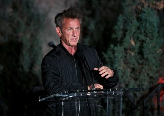 """LOS ANGELES, CALIFORNIA - MARCH 08: Sean Penn attends """"Meet Me In Australia"""" To Benefit Australia Wildfire Relief Efforts, hosted by The Greater Los Angeles Zoo Association, at Los Angeles Zoo on March 08, 2020 in Los Angeles, California. (Photo by Kevin Winter/Getty Images)"""
