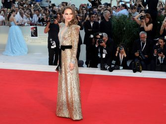 VENICE, ITALY - SEPTEMBER 04:  Natalie Portman walks the red carpet ahead of the 'Vox Lux' screening during the 75th Venice Film Festival at Sala Grande on September 4, 2018 in Venice, Italy.  (Photo by Elisabetta A. Villa/WireImage)