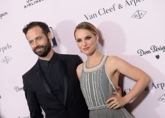 LOS ANGELES, CA - OCTOBER 19:  Benjamin Millepied and Natalie Portman attend LA Dance Project's 2019 Fundraising Gala on October 19, 2019 in Los Angeles, California.  (Photo by Vivien Killilea/Getty Images for L.A. Dance Project)