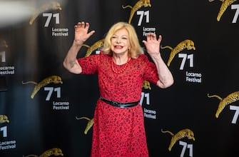 LOCARNO, SWITZERLAND - AUGUST 08:  Actress Sandra Milo attends the 'Un Nemico Che Ti Vuole Bene' photocall during the 71st Locarno Film Festival on August 8, 2018 in Locarno, Switzerland.  (Photo by Marin Mikelin/Getty Images)