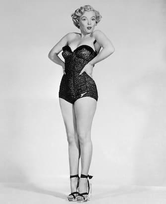 Marilyn Monroe in Strapless Swimsuit