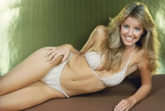 American actress Heather Locklear, circa 1985. (Photo by Maureen Donaldson/Getty Images)