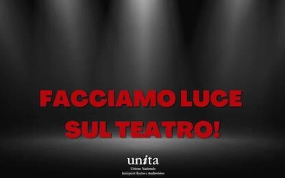 """Covid, l'iniziativa promossa da U.N.I.T.A.: """"Facciamo luce sul teatro"""""""