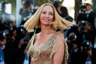 CANNES, FRANCE - MAY 28:  Uma Thurman attends the Closing Ceremony of the 70th annual Cannes Film Festival at Palais des Festivals on May 28, 2017 in Cannes, France.  (Photo by Matthias Nareyek/Getty Images)