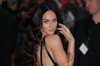 LONDON, ENGLAND - JUNE 15: Megan Fox attends the UK premiere of 'Transformers: Revenge of the Fallen' at Odeon Leicester Square on June 15, 2009 in London, England.  (Photo by Ferdaus Shamim/WireImage)