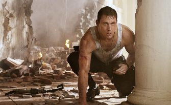"UNSPECIFIED - APRIL 20: In this handout production photo provided by Sony Pictures Entertainment, Channing Tatum portrays  John Cale in ""White House Down"". ""White House Down"", directed by Roland Emmerich, is about policeman John Cale saving the President of the United States when the White House is attacked by a paramilitary force on April 20, 2013. The film is set to be released in June 2013. (Photo by Sony Pictures Entertainment via Getty Images)"