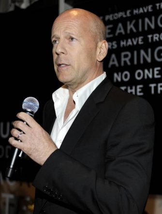 """SAN FRANCISCO, CA - JULY 27:  Bruce Willis attends the Sobieski """"Truth In Vodka"""" Event at the Fairmont Hotel on July 27, 2010 in San Francisco, California. (Photo by Tim Mosenfelder/Getty Images)"""