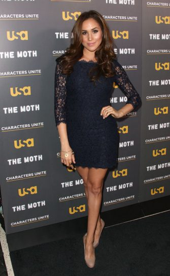 "WEST HOLLYWOOD, CA - FEBRUARY 15:  Actress Meghan Markle attends the USA Network's and The Moth's Storytelling Tour ""A More Perfect Union: Stories of Prejudice and Power"" at the Pacific Design Center on February 15, 2012 in West Hollywood, California.  (Photo by Frederick M. Brown/Getty Images)"