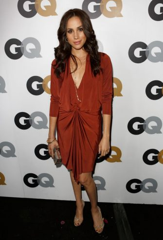 LOS ANGELES, CA - NOVEMBER 13:  Actress Meghan Markle arrives at the GQ Men of the Year Party at Chateau Marmont on November 13, 2012 in Los Angeles, California.  (Photo by Jeff Vespa/Getty Images For GQ)
