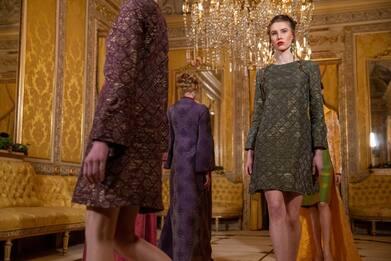 Milano Fashion Week, la collezione AI 2021-22 di Maison Celestino.FOTO