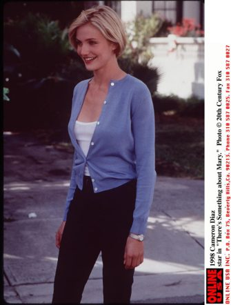 """375561 01: 1998 Cameron Diaz star in """"There's Something about Mary."""""""