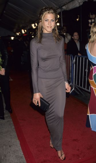 Jennifer Aniston during VH1 Divas Live at Beacon Theatre in New York City, New York, United States. (Photo by Ke.Mazur/WireImage)