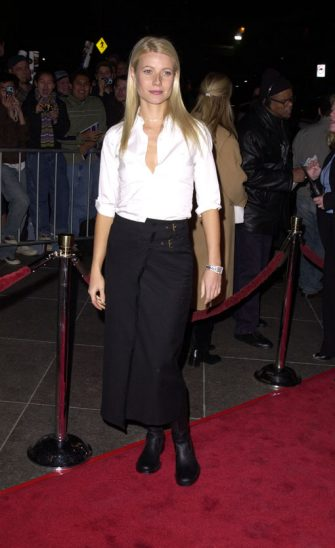 """Gwyneth Paltrow during """"Snatch"""" Los Angeles Premiere at Director's Guild in Los Angeles, California, United States. (Photo by SGranitz/WireImage)"""