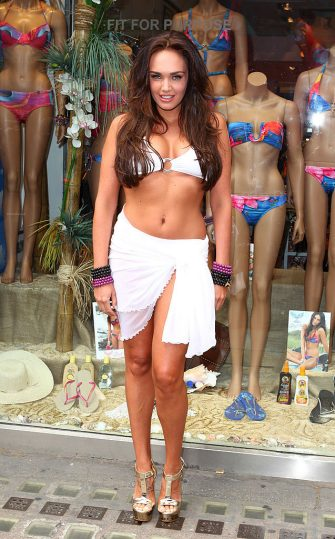 LONDON, ENGLAND - JUNE 21:  Tamara Ecclestone promotes the Lisa Blue charity whale tale bracelet campaign at Kings Road Sporting Club on June 21, 2012 in London, England.  (Photo by Mike Marsland/WireImage)