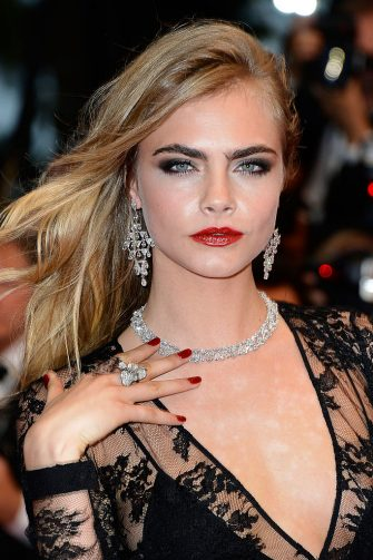 CANNES, FRANCE - MAY 15:  Cara Delevingne attends the Opening Ceremony and 'The Great Gatsby' Premiere during the 66th Annual Cannes Film Festival at the Theatre Lumiere on May 15, 2013 in Cannes, France.  (Photo by Pascal Le Segretain/Getty Images)